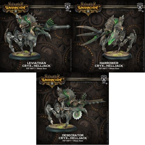 Cryx Desecrator Harrower Leviathan Box Out Of The
