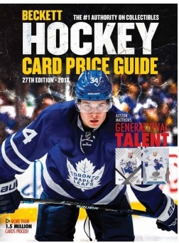 Beckett Hockey Card Price Guide 27th Edition 2018