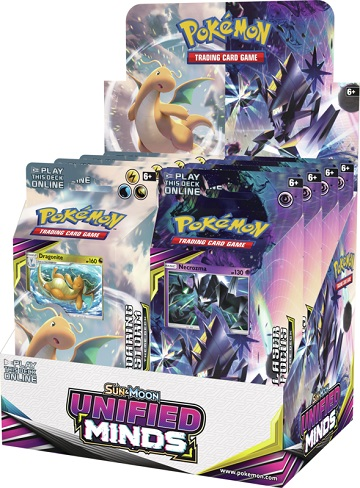 Pokemon Sun and Moon Unified Minds Theme Deck